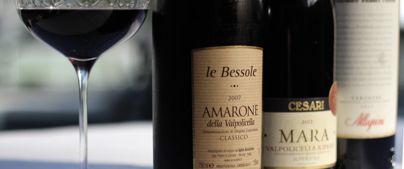 Red Wines of the Veneto: A Vapolicella Tasting