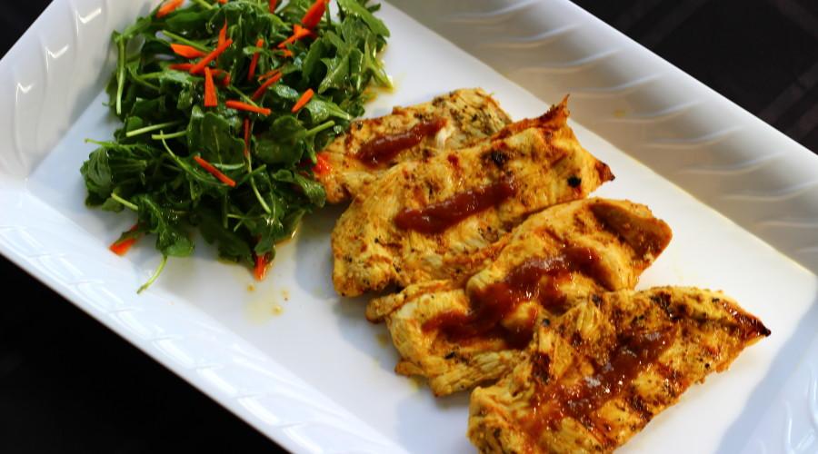 Orange/Fig Marinated Grilled Chicken