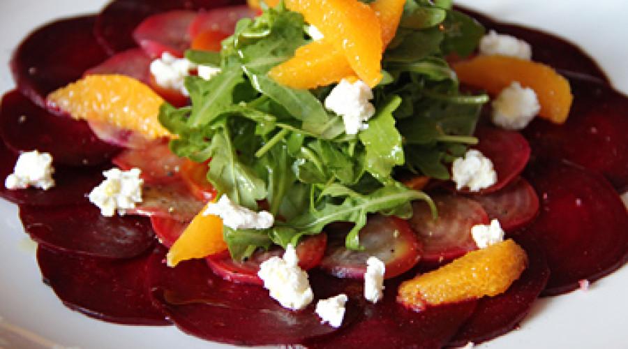 Beet Carpaccio Salad