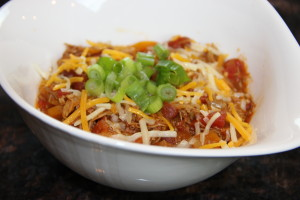 Serious Foodie Meat Chili
