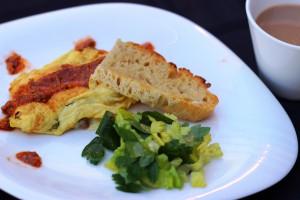 Romesco & omlette 4