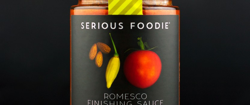 Introducing the Romesco Finishing Sauce!
