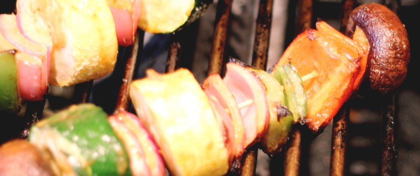 Grilled Veggies with Serious Foodie Sauces