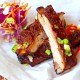 Pork Spare Ribs with Pomegranate Glaze