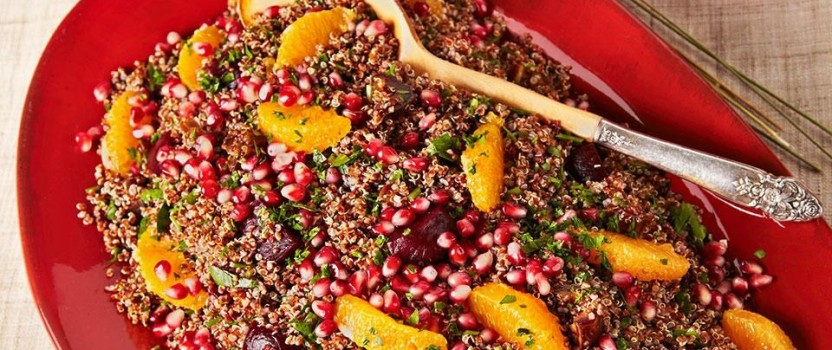 Turn the Beet Around: Simple, Tasty, Healthy Quinoa Salad with Beets & Oranges